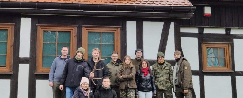 Zimowy monitoring w Drawieńskim Parku Narodowym